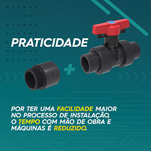 Conexões PVC Sch 80